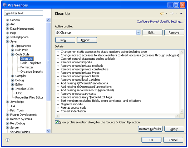Using Eclipse - XperienCentral Documentation - GX Wiki